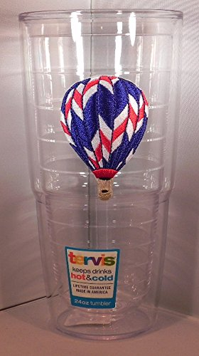 Tervis Tumbler Red White and Blue Hot Air Balloon 24oz