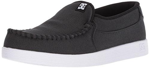 DC Men's Villain TX SE Skate Shoe, Black Marl, 14 Medium US -