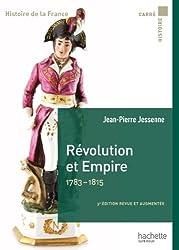 Révolution et Empire 1783-1815 (Carré Histoire de la France t. 19)