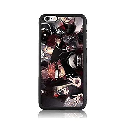 Amazon.com: Naruto Cartoon Akatsuki Print Case for Apple ...