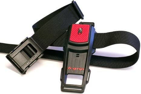 B-Grip BH - Soporte de cinturón para cámaras DSLR (Cierre de Clip ...