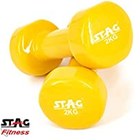 Save up to 54% on Stag vinyl dumbbells