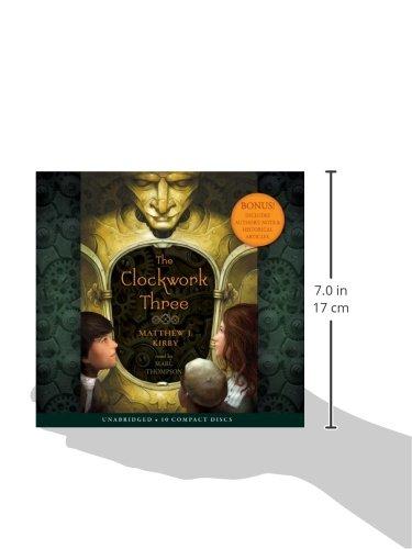 The Clockwork Three - Audio Library Edition