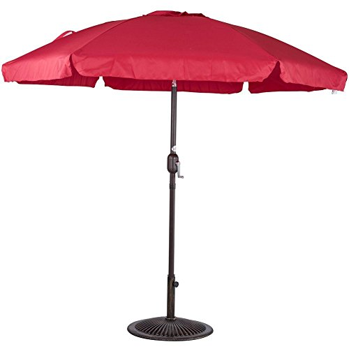 Sundale Outdoor 7.5 Feet Aluminum Beach Drape Umbrella with
