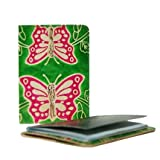 Cruelty Free Leather Passport Cover - Butterfly - Fair Trade