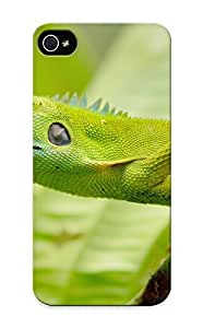 Exultantor Durable Animal Lizard Back Case/ Cover For Iphone 5/5s For Christmas