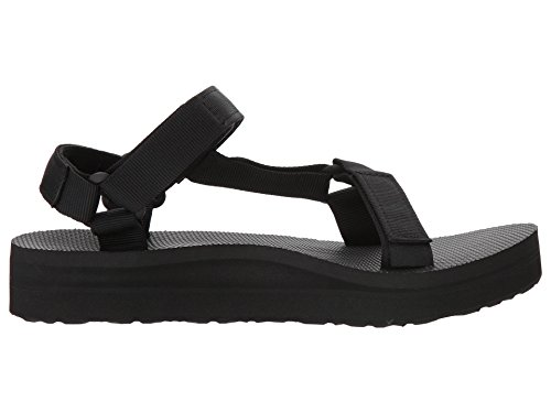 Teva Midform Universal Sandal Women's Hiking 6 Black by Teva (Image #4)