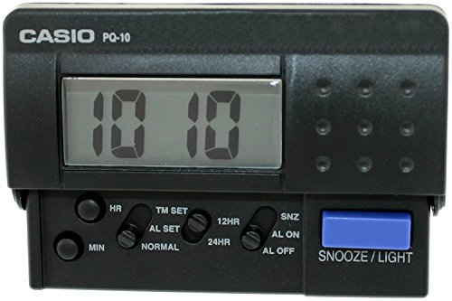 Casio PQ 10 1 CASIO Travel Alarm