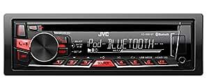 JVC KD-R861BT sintonizador de CD/DVD para el coche - Radio para coche (FM, LW, MW, 87.5 - 108.0 MHz, 153 - 279 kHz, LCD, Negro, 88W)
