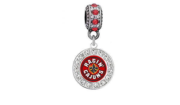 Amazon Com Louisiana Lafayette Charm Is Designed To Fit Compatible With Pandora Style Bracelets Sports Outdoors