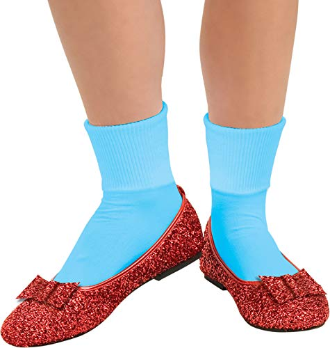 Rubie's Costume Co Wizard of Oz, Deluxe Adult Dorothy Sequin Shoes, Red, Medium -