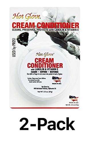 - Unique Hot Glove Baseball Softball Leather Mitt Conditioner Cream (2-Pack)