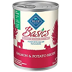 Blue Basics Salmon/Potato Can Dog Food 12 Pack