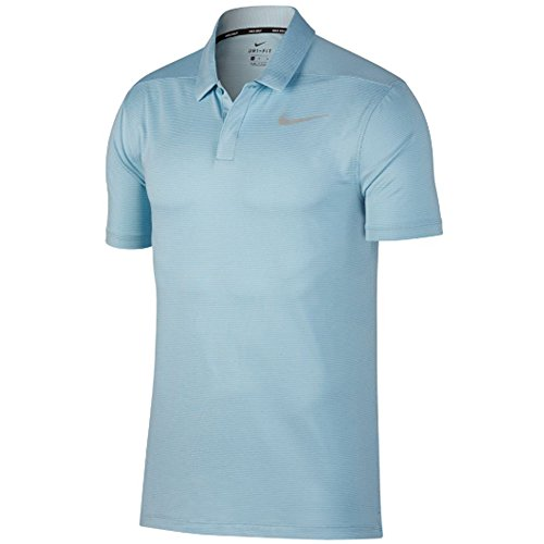 (Nike Dry Control Stripe Men's Golf Polo (Ocean Bliss, X-Large))