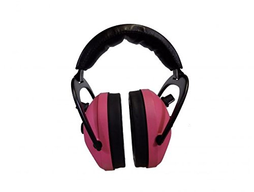 Pro Ears Gold II 26 - PEG2SMP - Electronic Hearing Protection & Amplification - Shooting Earmuff - NRR 26 - Electronic Hearing Protector Ear Muffs, Pink by Pro Ears