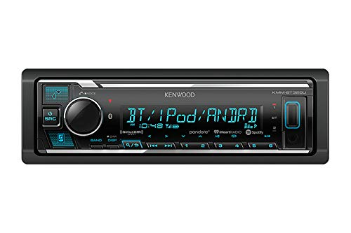 Kenwood KMMBT325 Digital Media Receiver with Bluetooth KMM-BT325U - Kenwood Home Receivers