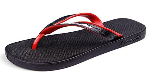 orape red Interior Sandalias Zapatillas Baño Hombres Chancletas Flip Playa Flops Ow4rtOznq