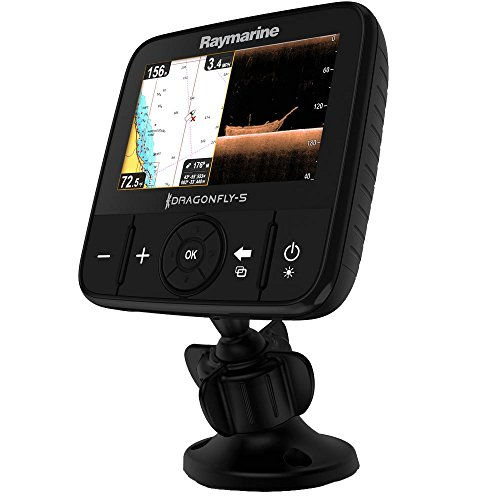 Raymarine Dragonfly-5 Pro Sonar/GPS with US C-Map...