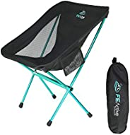 FE Active Folding Camping Chair - Compact Lightweight & Portable Outdoor Chair. Great Camping Chairs for A
