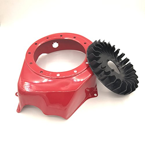 shiosheng Recoil Cooling Flywheel Fan Housing Cover Shroud for Honda GX160 GX200 168F 5.5HP 6.5HP Gas Engine Motor Generator Water Pump
