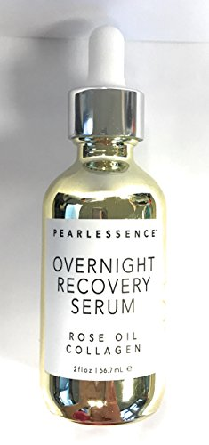 (Pearlessence Overnight Recovery Serum Rose Oil Collagen 2 Fl)