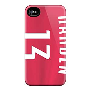 Protector Hard Phone Cases For Iphone 4/4s (nie12580AzDM) Provide Private Custom Stylish Houston Rockets Skin