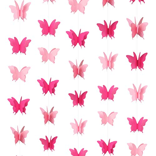 Butterfly Hanging Garland Bunting Decorations