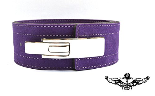 Quest Athletics Powerlifting Buckle Purple