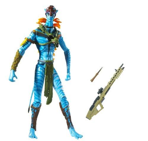 James Cameron's Avatar Movie Masters Avatar Jake Sully Warrior Figure ()