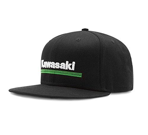 GENUINE KAWASAKI NEW ERA 9FIFTY KAWASAKI 3 GREEN LINES HAT (Monster Energy Kawasaki)