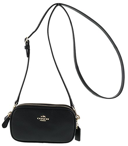 Coach Pebbled Leather Convertible Crossbody
