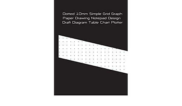 Dotted 10mm Simple Grid Graph Paper Drawing Notepad Design Draft Diagram Table Chart Plotter: Bullet Journal Planner Notebook Great For Student ... Architects Designer Artists & Contractors: Amazon.es: Sk, Ks: Libros en