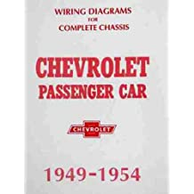 CHEVROLET COMPLETE SET OF FACTORY ELECTRICAL 1949 1950 1951 1952 1953 1954 WIRING DIAGRAMS & SCHEMATICS GUIDE - 10 PAGES. INCLUDES: Fleetline, Styleline, Bel Air, Sedan Delivery, 150, 210. CHEVY 49 50 51 52 53 54