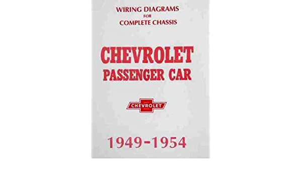 1949 1950 1951 1952 1953 1954 Chevrolet Wiring Diagrams Electrical Rhamazon: 1952 Chevy Wiring Diagram At Gmaili.net