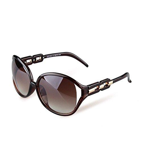 Señores Brown De Elegante Gafas Gafas Gafas Casual Mujer Marco Hueco Limotai Gafas Gafas De Sol Nuevas Elegantes Brown Sollas qZHAwR
