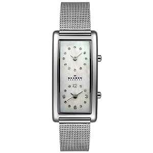 Skagen Women's 20SSSMP Steel Collection Dual Time Zone Stainless Steel Watch