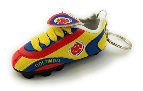 Mini Soccer Cleat KeyChain (Colombia)