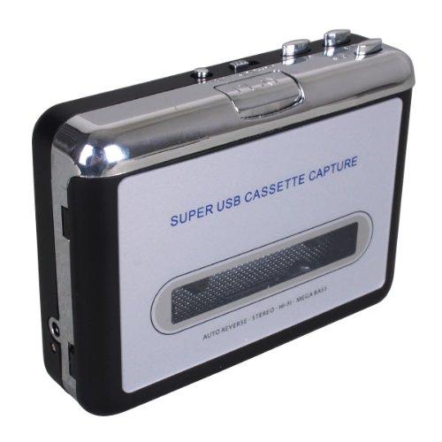 Keedox® USB Cassette-à-MP3 convertisseur Capture Audio Musique Lecteur baladeur