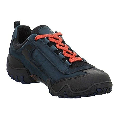 New tex Fina By Mephisto Black Nubuck All Trainers Womens Rounder Petrol IwfqnpXz
