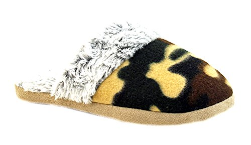 Luckers Mujeres Slippers Botaies C Camo Green