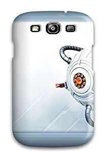 New Arrival Cover Case With Nice Design For Galaxy S3- Technology Robots by icecream design