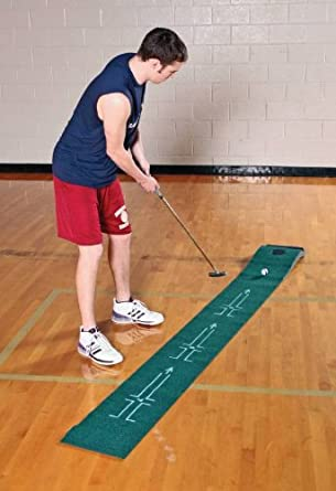 THE ACCELERATOR 72403092354 Tough Putting Teacher Golf Mat, 8.38 Height, 8.88 Width, 12.75 Length