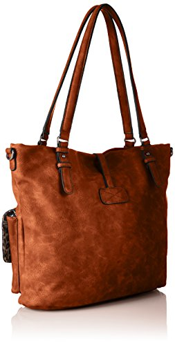 Cartables Tamaris Cognac Bernadette Bag Shopping Marron r7XtqwxZ7