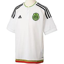 Adidas Jersey Seleccion Mexicana A JSY Y para Jóvenes, Color Blanco, Talla S