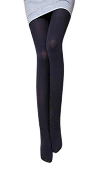 6ddb7e181 Womens Sexy Candy Color Opaque Tights Pantyhose Grey at Amazon ...