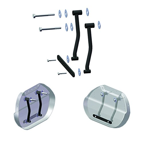 Willie & Max by Dowco 58633-00 Motorcycle Saddlebag Hard Mount Kit: Steel, Universal by Willie & Max (Image #1)