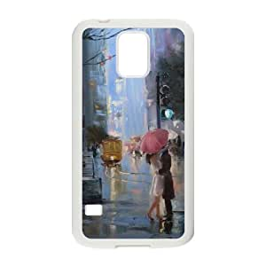 GGMMXO Oil painting Shell Phone Case For Samsung Galaxy S5 i9600 [Pattern-2]