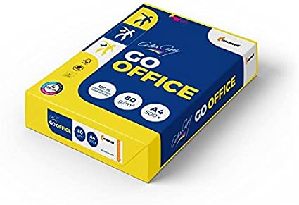 100 g//m/² Farblaserpapier: Color Copy GO Office Neusiedler Mondi Drucker-//Kopierpapier A4 hochwei/ß 500 Blatt