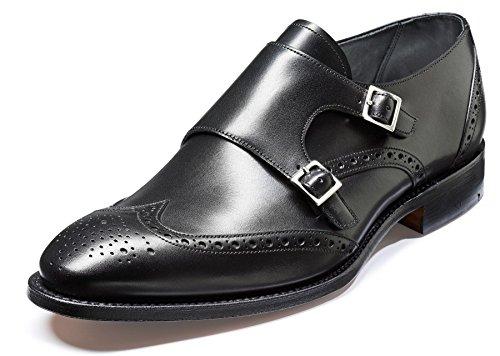 Barker Shoes - Zapatos de cordones para hombre negro negro