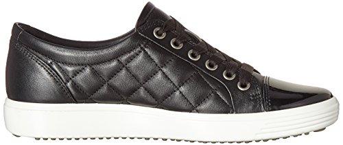 7 Mujer Zapatillas para 50659black Soft Ecco Ladies Negro Black 5XqOWZUwp